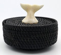 Whale Tail Baleen Basket by Carl Hank