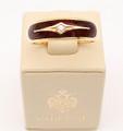 F1970 Purple with Diamond   Faberge Ring