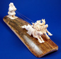 Russian North | Fossil Ivory Carving