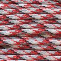 Red Camo Polyester Paracord