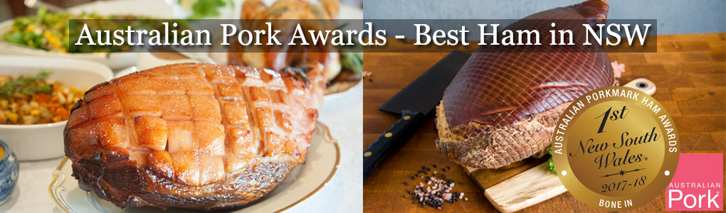WINNER - BEST HAM IN NSW