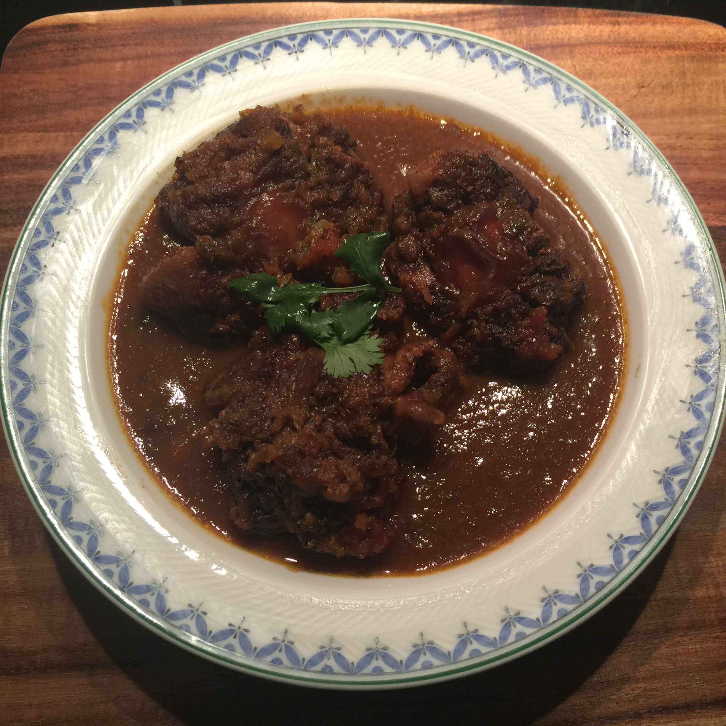 Spanish Ox Tail Stew