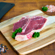 Beef: T-Bone Steak Dry Aged $39.99/kg
