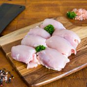 Chicken: Thighs $19.99/kg