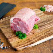 Pork: Scotch Fillet Roast Skin On - 800g - $25.99/kg