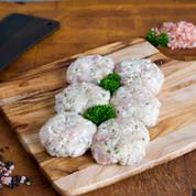 Chicken: Sage Rissoles $23.99/kg