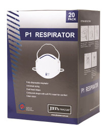8C001 - JB's P1 RESPIRATOR Box of 20