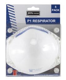 8C00 JB'S BLISTER (5PC) P1 RESPIRATOR