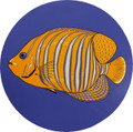 "Set of two 7"" MINI Queen Angel Fish Drop-in PoolArt™"