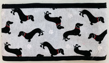 Dapper Doxie Bad Boy Dachshund 4 inch wide Belly Band - Custom Made