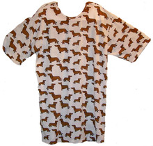 Oversized NIGHTSHIRT Wiener Dog Dachshund Pawfect Lounge Pajama Apparel