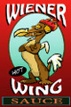 Wiener Wing Chicken Hot Wing Habanero Sauce - HOT - Long Dog Dachshund Sauce