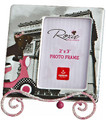 Roxie Doxie visits Arc de Triomphe - Mini Photo Frame with Easel