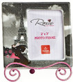 Roxie Doxie visits Eiffel Tower - Mini Photo Frame with Easel