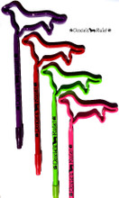 Solid Dachshund Silhouette Pens