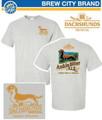 * 1 Medium Left - III Dachshunds Medium GRAY Ankle Biter Company Logo Tee Shirt
