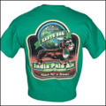 III Dachshunds India Pale Ale KELLY GREEN Tee Shirt