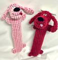 15.5 inch Red Squeaker Carpet Dachshund Dog Toy