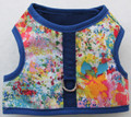 Mr. Wags Custom Dachshund Walking Harness Vest - Watercolors