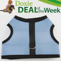 FREE Shipping - Save $2! - BLUE MESH - Custom Dachshund Walking Harness Vest