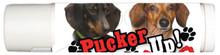 Pucker UP! Vanilla Mint Doxie Lovers Lip Balm - I Love Dachshunds