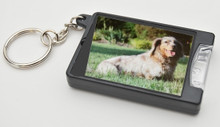 Personalized Dachshund Photo Flashlight Keychain - Add Your Doxie Photo!