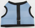 Mr. Wags Custom Dachshund Walking Harness Vest - Blue Mesh