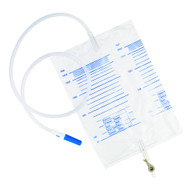 Universal Drainable Urine Bag 2 Litre with lever tap (x10)
