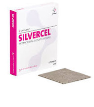 Silvercel Antimicrobial Alginate Dressing 5cm x 5cm (x10)