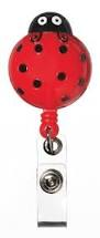 Ladybird - Deluxe Retractable ID Holder / Key tag