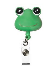 Frog - Deluxe Retractable ID Holder / Key tag