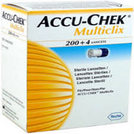 Accu-Chek Multiclix Lancets x 204