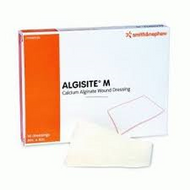 Algisite M calcium alginate dressing 5x5cm (x10)