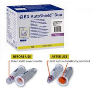BD AutoShield Duo Pen Needle 32g x 5mm (x100)