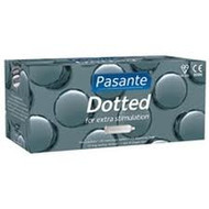 Pasante Dotted Condoms x 144 (Bulk Pack)