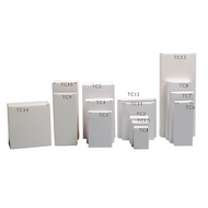 Tablet cartons - 62 x 34.5 x 92.5mm - Ref: TC3 (x250)