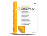 MediHoney Tulle dressings 10cm x 10cm (x5)