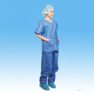 Surgical Scrubs Suit - Top & Bottoms - Small (Single Use)