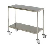 Universal Surgery Trolley 1200 x 500 x 800mm