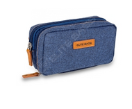 Elite Diabetic Cool Bag - Various Compartments for pens and equipment (Denim Blue)