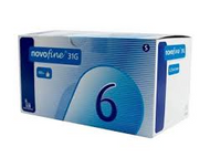 Novofine Pen Needles 31G 6mm (x100)