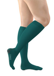 FITLEGS AES Grip Below Knee Anti-Embolism Stockings (open toe) - Small (Pair)