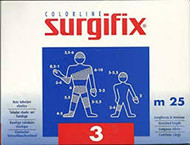 Surgifix Elastic Tubular Netting 25m. Size: 3 (Ideal for arm, Elbow, Foot, Leg)