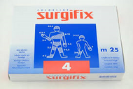 Surgifix Elastic Tubular Netting 25m. Size: 4 (Ideal for Knee, Leg, Thigh)