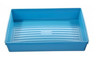 Instrument Tray - 300 x 250 x 52mm (Blue) - Polypropylene