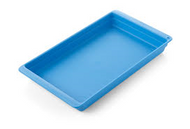 Instrument Tray - 195 x 135 x 23mm (Blue) - Polypropylene