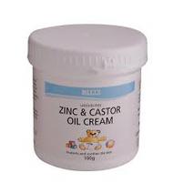 Bells Zinc and Caster Oil Cream 225g