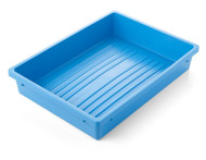 Instrument Tray - 420 x 305 x 75mm (Blue) - Polypropylene