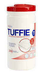 Tuffie Hard Surface Disinfectant Wipes x 200 wipes