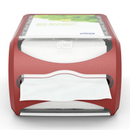 Tork Xpressnap Counter Napkin Dispenser - Red